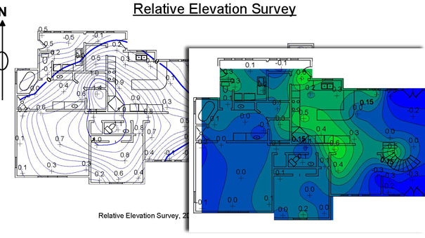 Elevation Contours & Differential